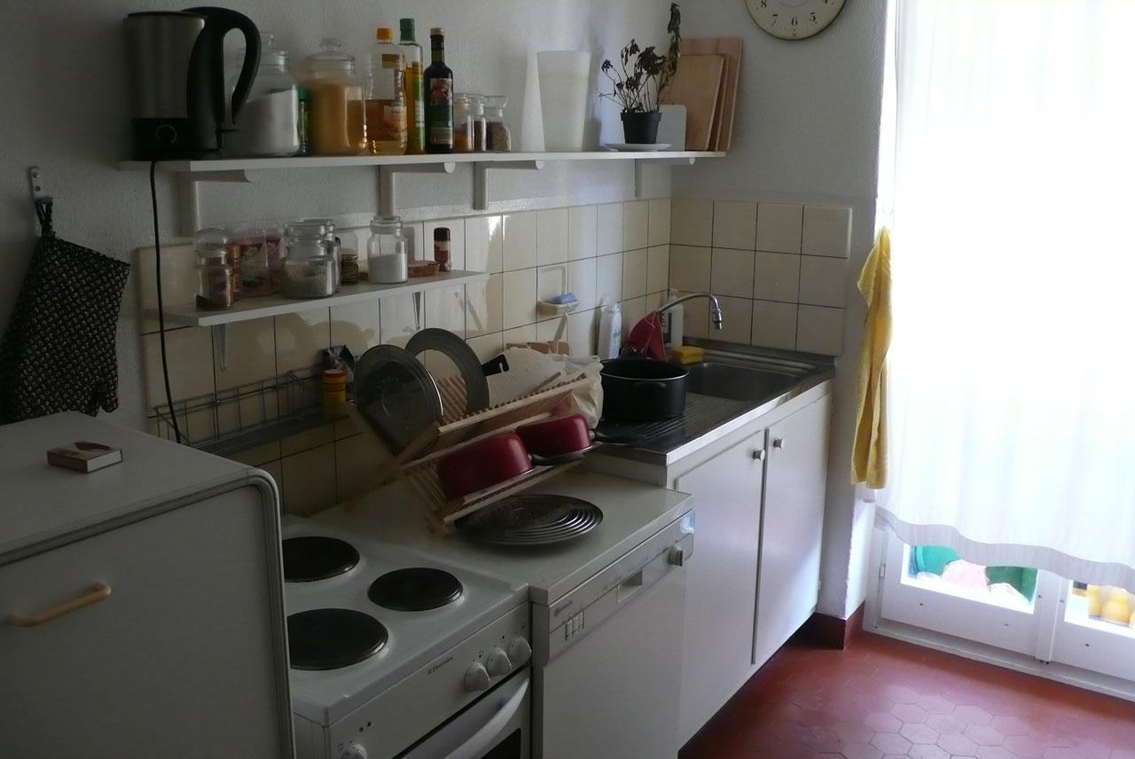 Küche vor dem Umbau
